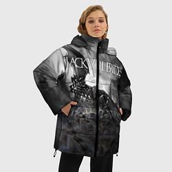 Куртка зимняя женская Black Veil Brides: Faithless цвета 3D-черный — фото 2
