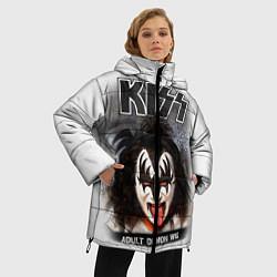 Куртка зимняя женская KISS: Adult demon wig цвета 3D-черный — фото 2