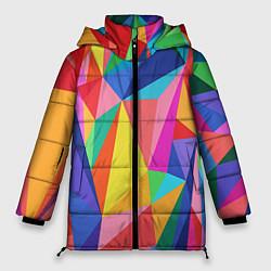 Куртка зимняя женская Радуга цвета 3D-черный — фото 1