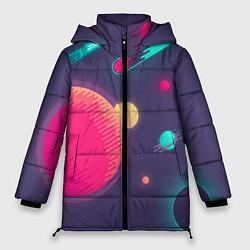Куртка зимняя женская Космос - фото 1