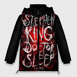 Женская зимняя 3D-куртка с капюшоном с принтом Doctor Sleep, цвет: 3D-черный, артикул: 10095789806071 — фото 1