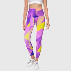 Леггинсы женские Texture цвета 3D — фото 2