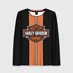 Лонгслив женский Harley-Davidson цвета 3D — фото 1