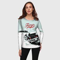 Лонгслив женский Fargo Car цвета 3D — фото 2