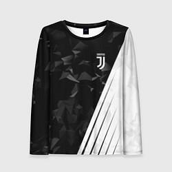 Женский лонгслив FC Juventus: Abstract