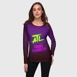 Лонгслив женский ATL цвета 3D-принт — фото 2