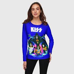 Лонгслив женский Kiss Show цвета 3D — фото 2