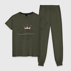 Женская пижама Королевы рождаются в июле