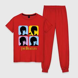 Женская пижама The Beatles: pop-art