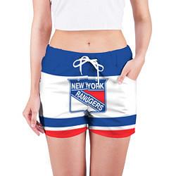 Шорты женские New York Rangers цвета 3D — фото 2