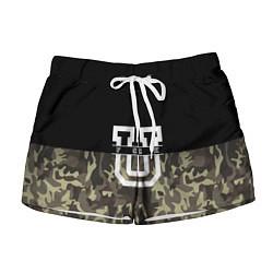 Женские шорты FCK U: Camo