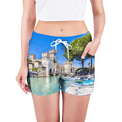 Шорты женские Италия цвета 3D — фото 2