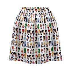 Женская юбка Моя Геройская Академия