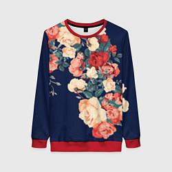 Женский свитшот Fashion flowers