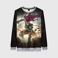 Свитшот женский Darksiders Warrior цвета 3D-меланж — фото 1