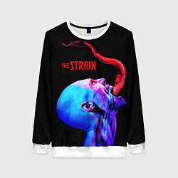 Свитшот женский The Strain: Monster цвета 3D-белый — фото 1