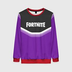 Свитшот женский Fortnite Violet цвета 3D-красный — фото 1