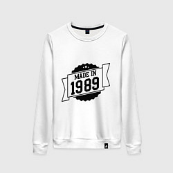 Женский свитшот Made in 1989
