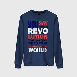 Женский свитшот The Beatles Revolution