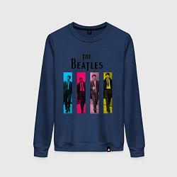 Женский свитшот Walking Beatles