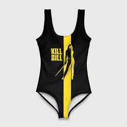 Купальник-боди 3D женский Kill Bill цвета 3D — фото 1