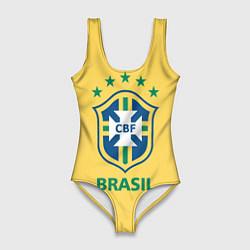 Купальник-боди 3D женский Brazil Team цвета 3D — фото 1