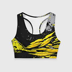 Топик спортивный женский Форма для фитнеса цвета 3D-принт — фото 1