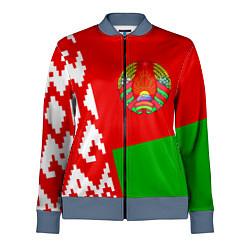 Олимпийка женская Патриот Беларуси цвета 3D-серый — фото 1
