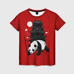 Футболка женская Panda Warrior цвета 3D — фото 1