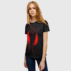 Футболка женская Zombie Rock цвета 3D — фото 2