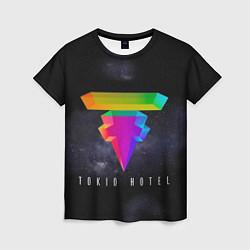 Футболка женская Tokio Hotel: New Symbol цвета 3D — фото 1