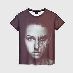 Футболка женская Chelsea Grin: Death Girl цвета 3D-принт — фото 1