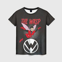 Футболка женская The Wasp comics цвета 3D-принт — фото 1
